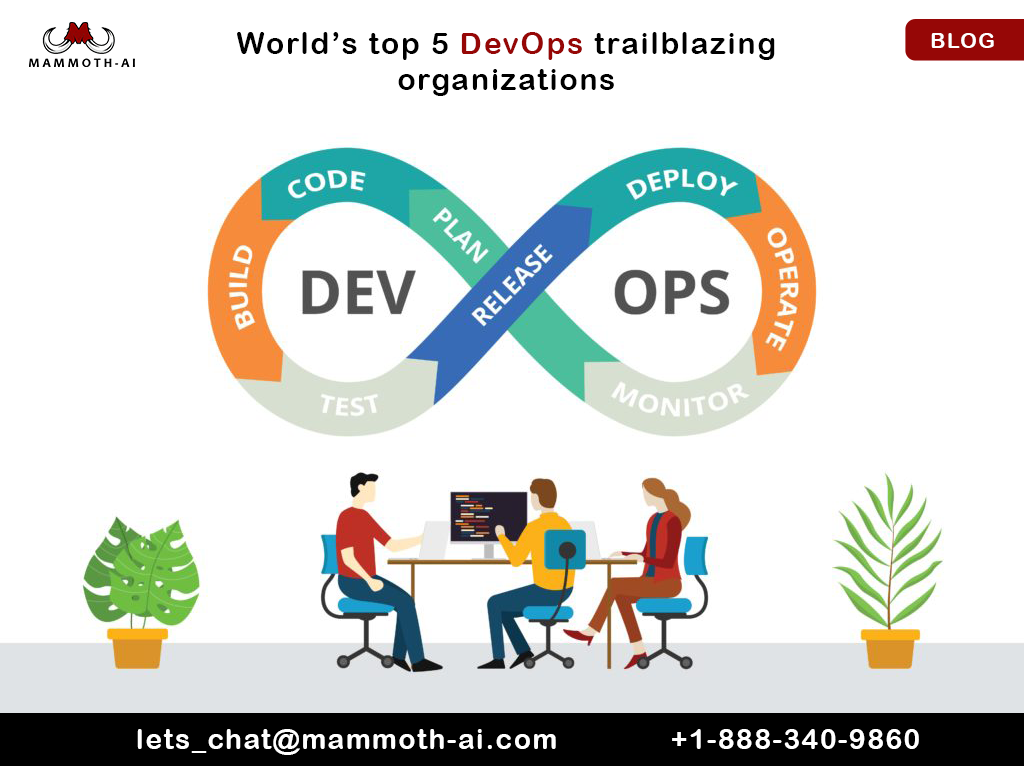 World's top 5 DevOps trailblazing organizations -Mammoth-AI- Blog